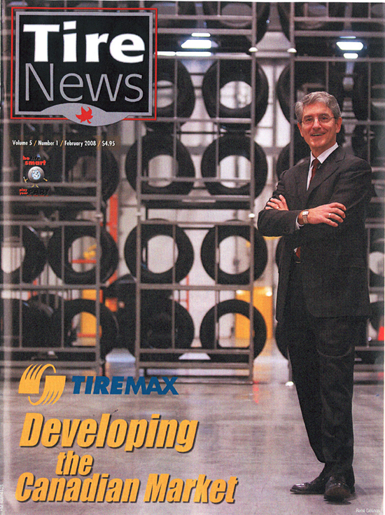Tire News Feb 2008 - Cover