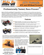 ATV and UTVs Brochure Tire Sealant and Balancer