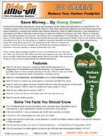 Brochure Go Green with Tire Sealant and Balancer