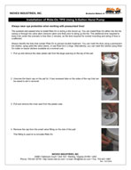 Brochure 5 Gallon Hand Pump Installation Instruction