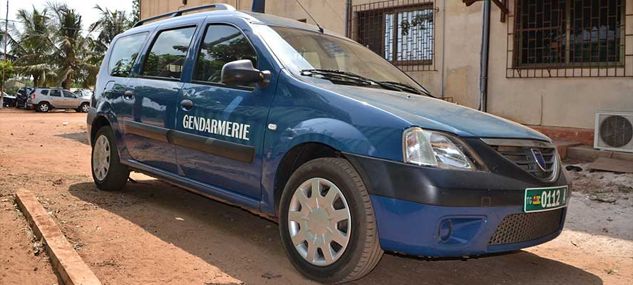 Ride-On scellant pneu pour gendarmerie