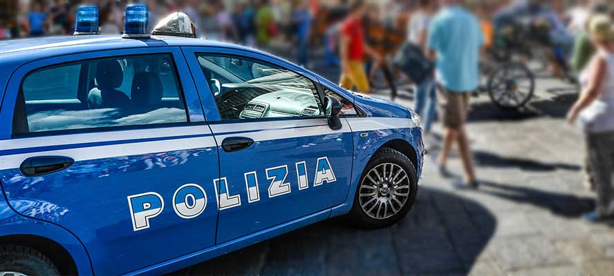 Ride-On sigillante per polizia
