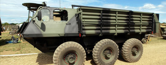 Tire protection for military vehicles